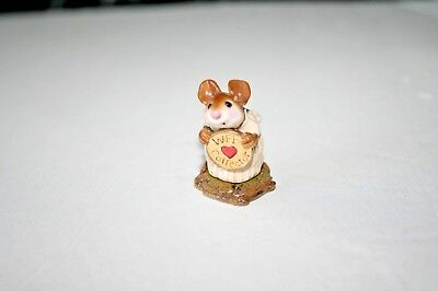 Wee Forest Folk EV 1998 A TOUCH OF CLASS  Mice Mouse miniature Collectors piece