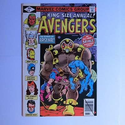 The Avengers King Size Annual #9