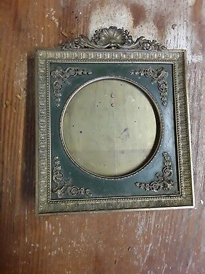 A bronze photo frame of the Russian Empire of the 20th century. size 15X15