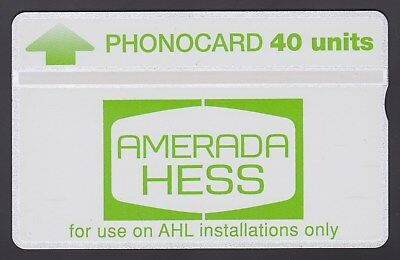 Amerada HESS 40 units mint CUR015 Thermograpic Band 940H.