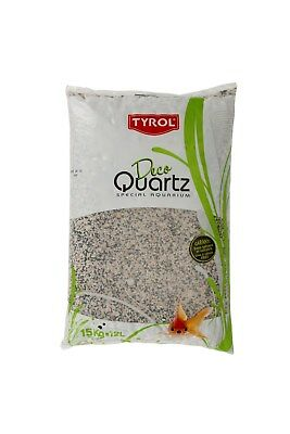 Quartz gravier hawai décoration d'aquarium 15 kg