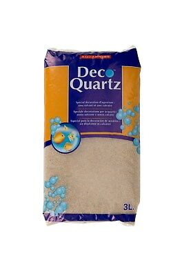 Quartz gravier décoration d'aquarium 3 L