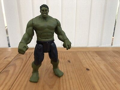 "2015 Marvel Avengers Talking Incredible Hulk 12"" Action Figure Hasbro"