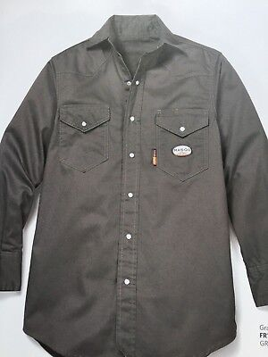 Rasco FR  Gray LIGHWEIGHT   Work Shirts NWT GR754