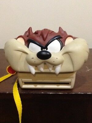 Looney Toons Tazmanian  Devil Taz Polaroid Instant Camera With Strap Untested