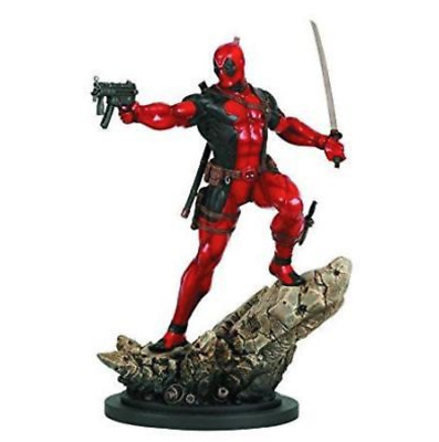 Deadpool Action Statue By Bowen Designs (Factory Sealed, Brand New)