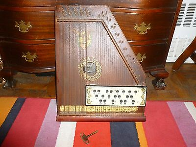 Musical The Bell Harp Company Harp Antique Music Instrument. Fantastic!
