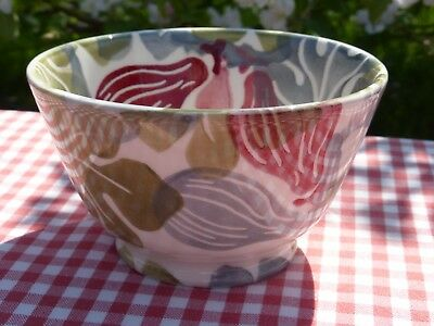 Emma Bridgewater Rose Pink/moss Figs Collectors Old Bowl 30 Years Backstamp