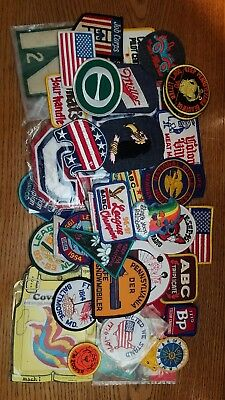 40 vintage patches