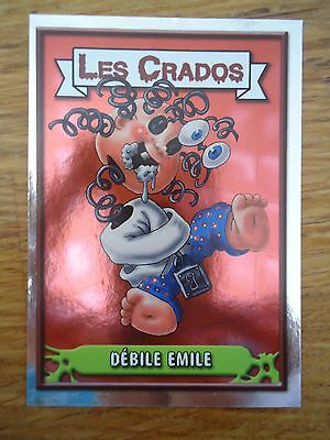 Image * Les CRADOS 3 N°87 * 2004 album card Sticker FRANCE Garbage Pail Kid