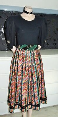 German Austrian Dirndl Skirt + Shirt + Belt 4