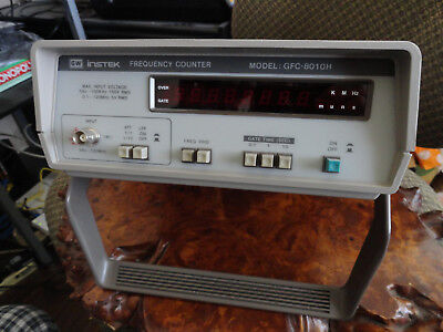 grants garae -  GW INSTEK frequency counter model GFC-8010H
