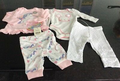 2 Baby Girl Suits Age Upto 1 Month And First Size Brand New With Tags