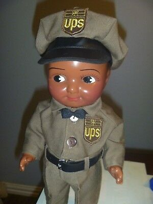 Very Rare Buddy Lee Composition Black Delivery Driver Buddy Lee Doll 1 Only
