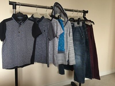 Large Bundle Of Boys Next Casual Items Size 6 Years. Jeans, Polo Shirts, Shorts!