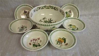 Portmeiron Large Serving Bowl plus Six Small Dishes (11090-MY-W24)