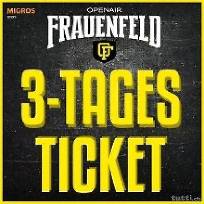 3 Tages Ticket Open Air Frauenfeld