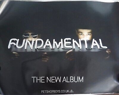 Pet Shop Boys - Fundamental (Double Sided Uk Promotional Poster)