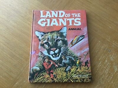 Land Of The Giants 2nd Annual 1970 Unclipped No Writing Ok Condition - 2 Blemish