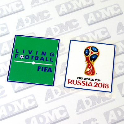 FIFA World Cup Russia 2018  & Living Football, Pair Patches, public version