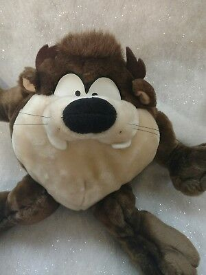 Vintage 1996 Taz Applause Plush Looney Tunes Tasmanian Devil Stuffed Animal