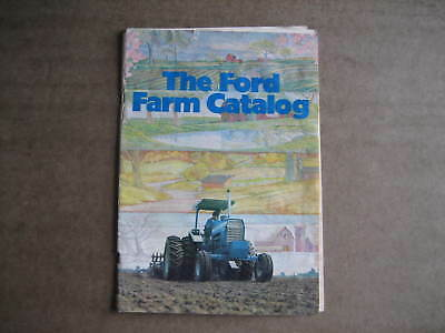 Vintage 70's 80's? The Ford Farm Catalog Tractors/Mowers Sales Brochure