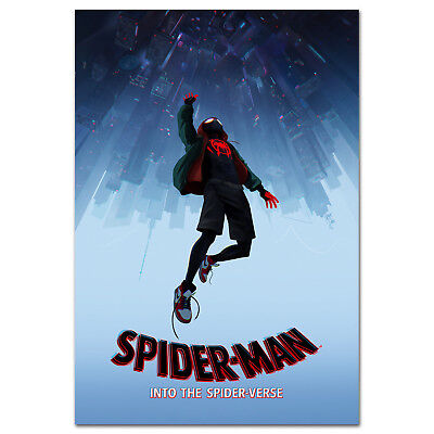 Spider Man Into the Spider Verse Official Art Poster - High Quality Prints