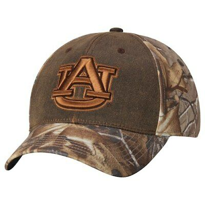 release date 70ceb 88954 Top of the World Auburn Tigers Camo Habitat Realtree Memory 1Fit Flex Hat