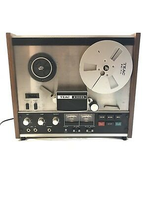 Vintage Teac 2300S Reel To Reel Tape Player Recorder