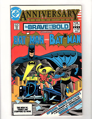 The Brave and the Bold #200 (1983, DC) VF- Batman 1st App Outsiders & Katana