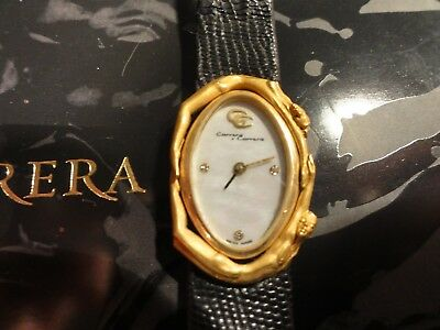 CARRERA Y CARRERA~Solid 18K Gold+Diamonds~EROS Collection   140~Wristwatch a6e50a8354ae