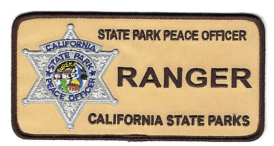 California State Park Ranger 150th Anniversary Shield PATCH