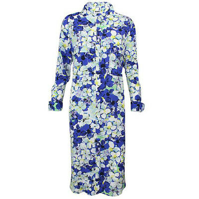 CCH Collection New with Tags Floral Print Shirt Dress Super Floral Large