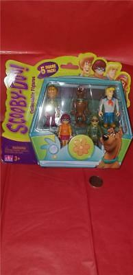 """Scooby- Doo! Collectible Figures - 5 Pack 2.5"""" (Velma,Scooby,Shaggy,Fred&Zombie)"""