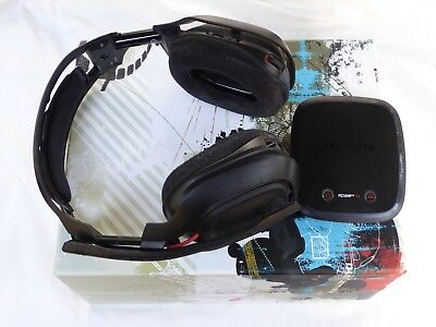 Astro A50  Edition Black/Red Headband Headsets for Multi-Platform (PS4, Xbox,PC)