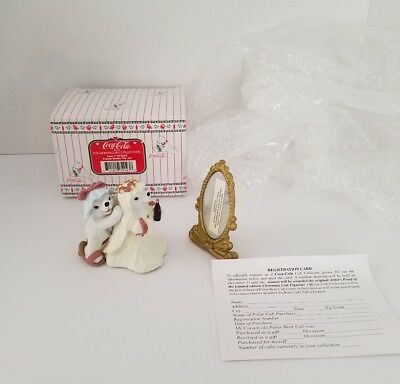 NEW 1996 Coca-Cola Polar Bear Cubs Collection Series Friends Double The Joy B2