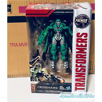 Transformers: The Last Knight Premier Edition Deluxe CROSSHAIRS Brand New