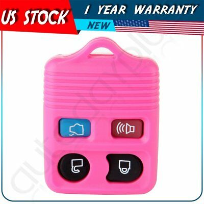 Pink Shell Pad Key Fob Case For 2008 2009 2010 2011 2012 2013 2014 Ford Escape