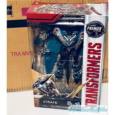 Transformers The Last Knight Premier Edition Deluxe STRAFE Brand New(light Wear)