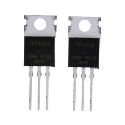 10pcs IRF4905 IRF4905PBF Power MOSFET 74A 55V P-Channel IR TO-22} NJSY
