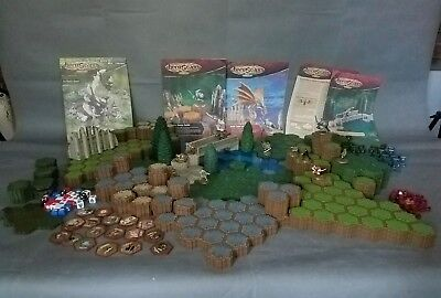 Heroscape Rise of the Valkyrie & Swarm of the Marro lot