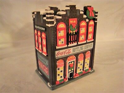 1992 Coca Cola TIME SQUARE 4 Building LOT and Accessories - 11 Items total