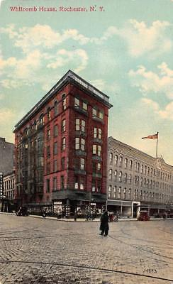 ROCHESTER, NY New York     WHITCOMB HOUSE & Street View     c1910's Postcard