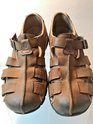 a25a0dd79fad Teva Mens Brown Closed Toe Sandals Shoes Waterproof Size 10M US Euro 43
