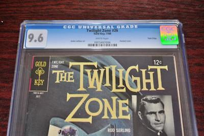 * The TWILIGHT ZONE #26 (CGC 9.6 NM+) TWIN CITIES Original OWNER Collection *