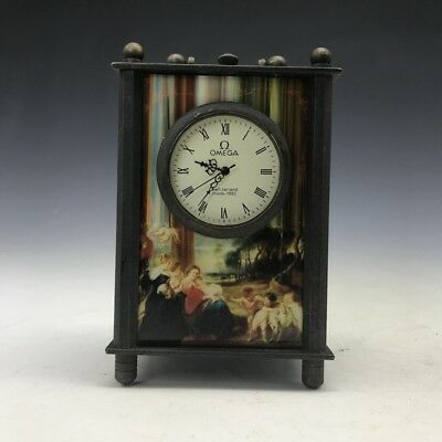 Chinese ancient mechanical clock (pure hand painting) character image