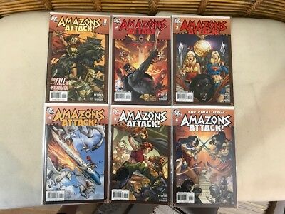 Amazons Attack 1-6 (Complete Run) from DC Comics