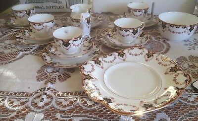 tuscan fine bone china tea set