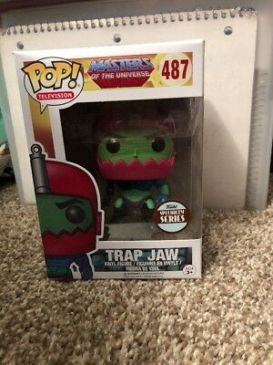 Funko Pop Specialty Series Masters of the Universe Trap Jaw Vinyl Figure #487