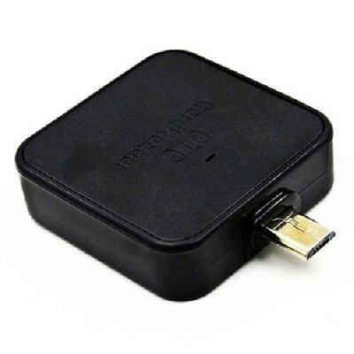 3 in 1 OTG Card Reader with Micro USB / TF / SD Interface  -  BLACK